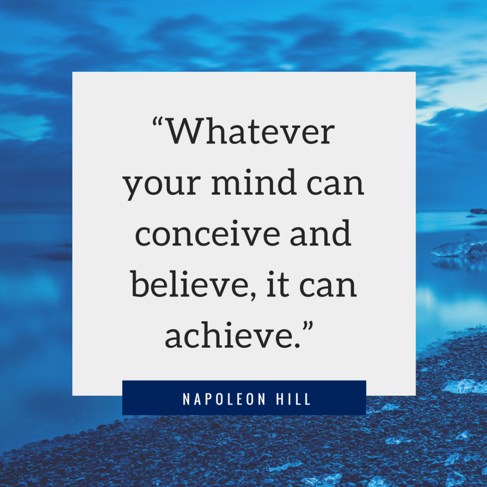 what your mind can conceive your body can achieve essay